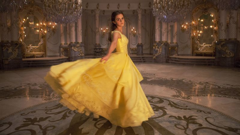 Beauty and the Beast, Emma Watson, best movies (horizontal)