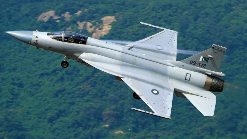 Chengdu JF-17, fighter aircraft, China air force, Pakistan Air Force (horizontal)