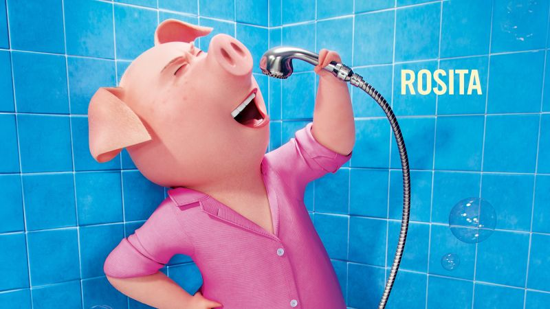 Sing, pig, rosita, best animation movies of 2016 (horizontal)