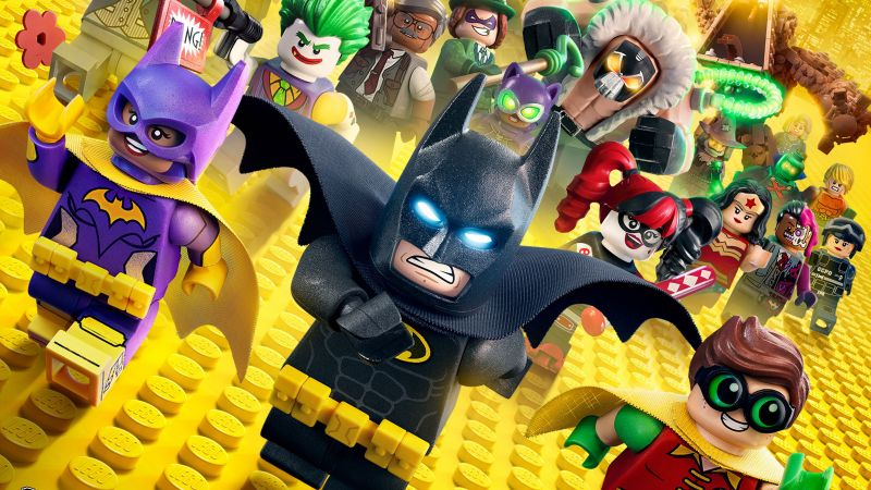 The LEGO Batman Movie, batman, lego, best movies (horizontal)