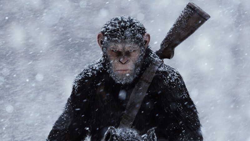 War for the Planet of the Apes, ape, best movies