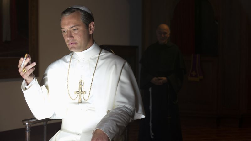 The Young Pope, Jude Law, Diane Keaton, best tv series (horizontal)
