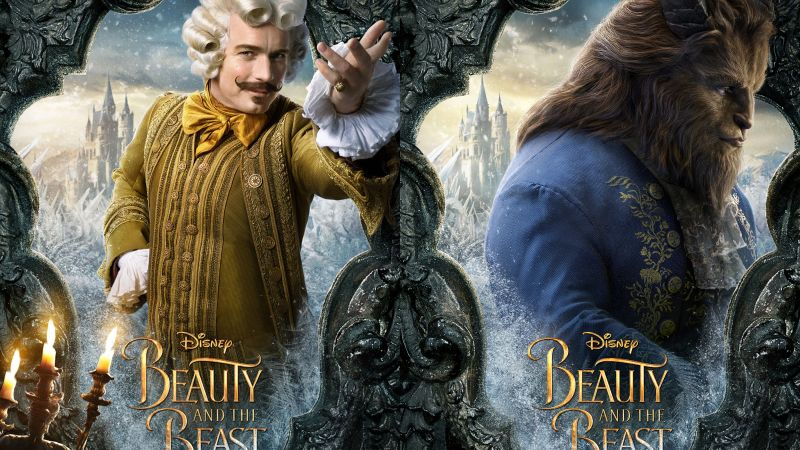 Beauty and the Beast, Evan McGregor, Dan Stevens, life picture, best movies