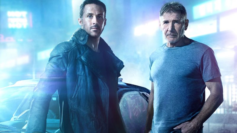 Blade Runner 2049, Ryan Gosling, Harrison Ford, Jared Leto, best movies (horizontal)