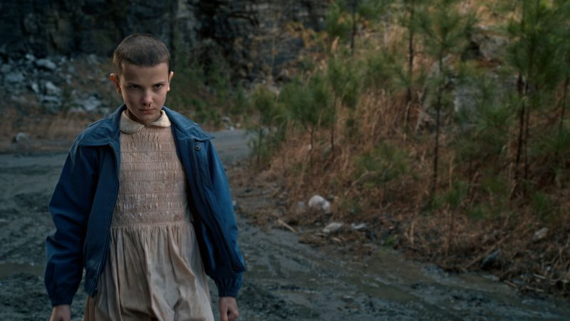 Stranger Things, Millie Bobby Brown, season 1, horror, best tv series (horizontal)