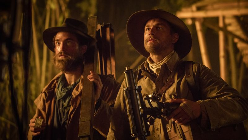 The Lost City of Z, Charlie Hunnam, Robert Pattinson (horizontal)