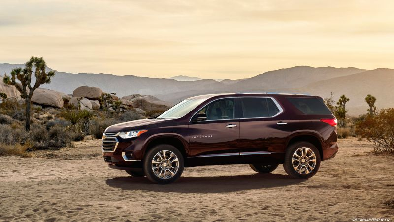 Chevrolet Traverse, crossover, NAIAS 2017, side
