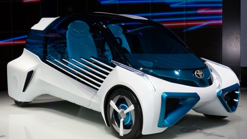 Toyota FCV Plus, electric cars, concept