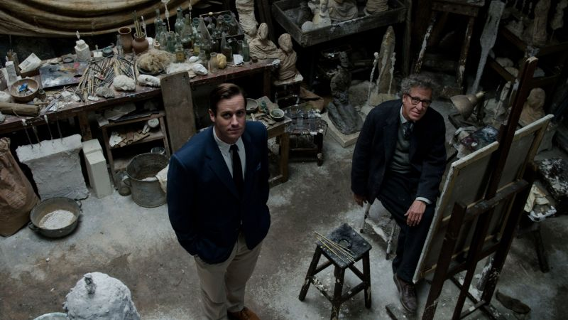 Final Portrait, Geoffrey Rush, Armie Hammer, best movies