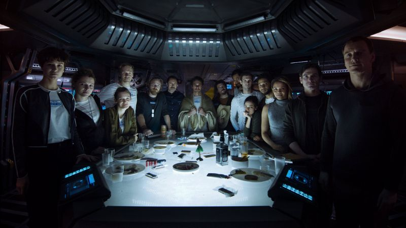 Alien: Covenant, Prologue, Last Supper, cast, best movies (horizontal)