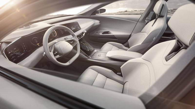 Lucid Air, electric cars, interior