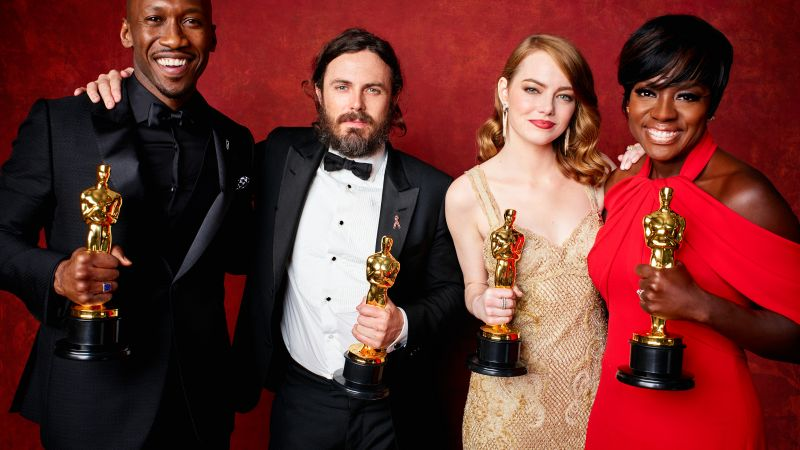 Oscar 2017, winners, Emma Stone, best picture (horizontal)