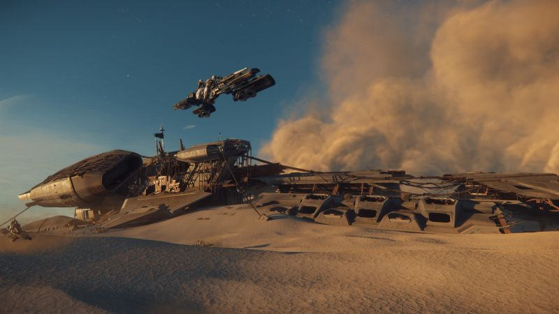 Star Citizen, space simulator, best games, PC