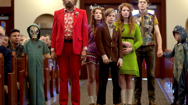 Captain Fantastic, Viggo Mortensen, George MacKay, Annalise Basso, best movies