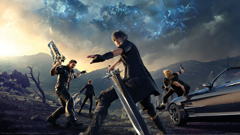 Final Fantasy 15, Episode Gladiolus, xbox one, PC, PS4 (horizontal)