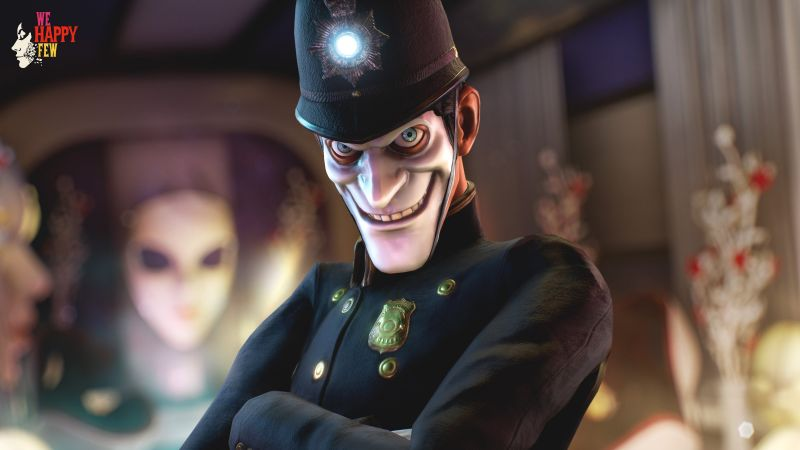 We Happy Few, best games, PS 4, Xbox One, PC