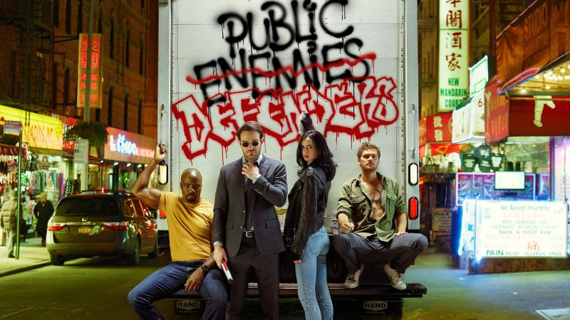 The Defenders, Marvel, best tv series (horizontal)