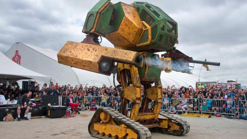 MegaBots, Mark III, battle mecha, robot battle, best robots (horizontal)