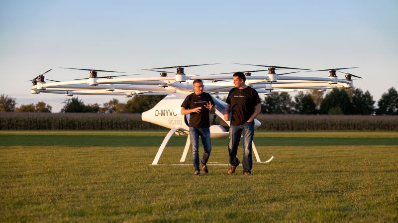 Volocopter 2X, aerial vehicle, best drones, review (horizontal)