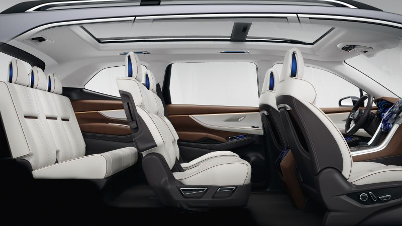 Subaru Ascent, concept, interior, 2017 New York Auto Show (horizontal)