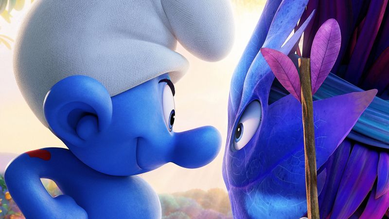 Smurfs: The Lost Village, Hefty, best animation movies