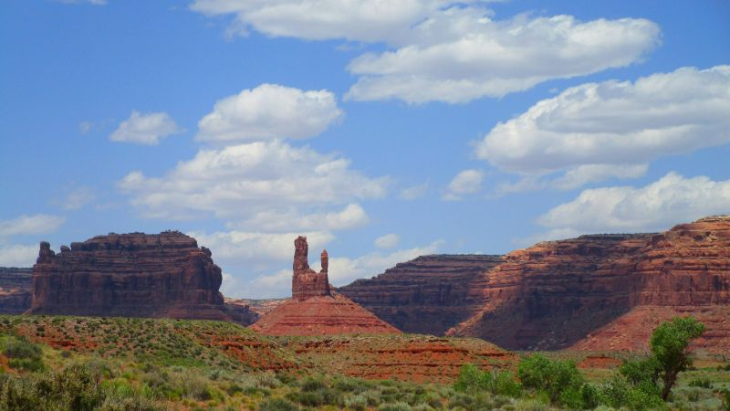 mountain, Valley Of the Gods, Utah