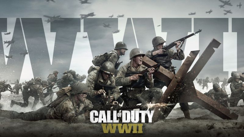 Call of Duty: WW2, 4k, 5k, poster, E3 2017 (horizontal)