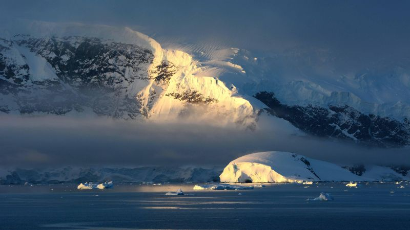 Antarctica, 4k, 5k wallpaper, 8k wallpaper, hd wallpaper, snow, iceberg, mountain (horizontal)