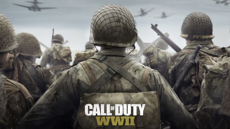 Call of Duty: WW2, 4k, 5k, poster, screenshot, E3 2017 (horizontal)