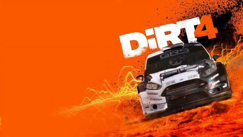 DiRT 4, racing car, best racing games