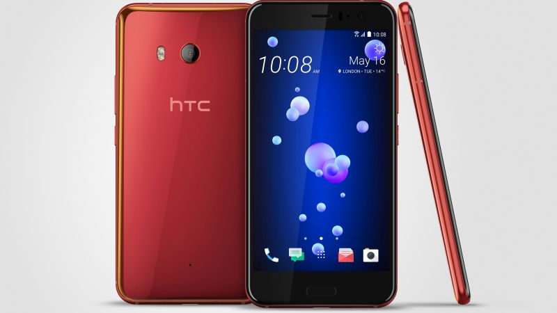 HTC U11, Solar Red, best smartphones (horizontal)
