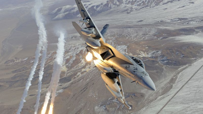 Boeing EA-18 Growler, Electronic Attack Aircraft (horizontal)