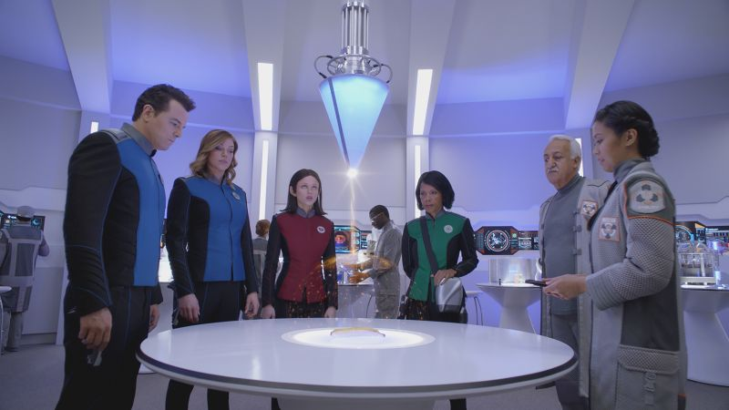 The Orville, Penny Johnson Jerald, Seth MacFarlane, Christine Corpuz, Halston Sage, best tv series (horizontal)