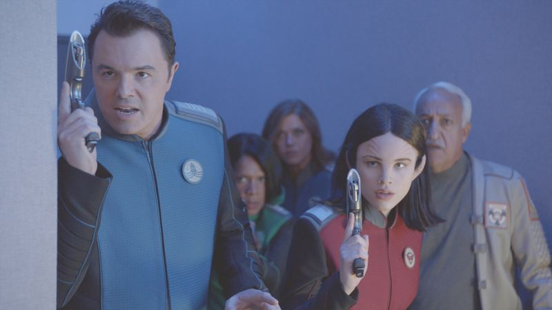 The Orville, Seth MacFarlane, best tv series, best comedies, season 1 (horizontal)