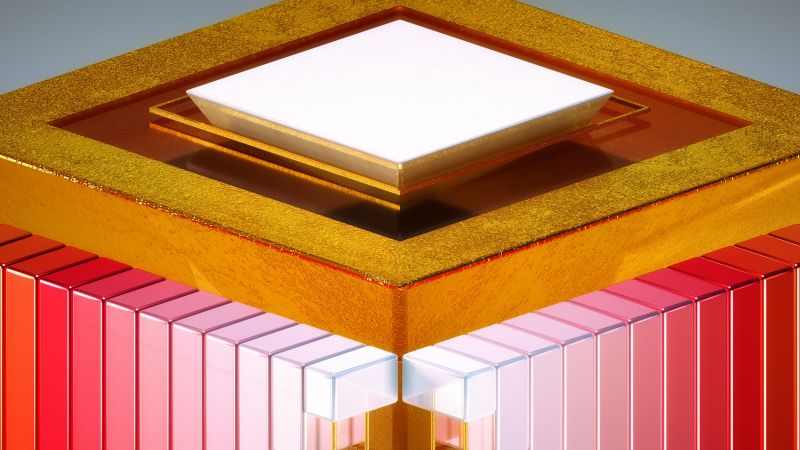 HD, 3D, Medaltations, cube, abstract (horizontal)
