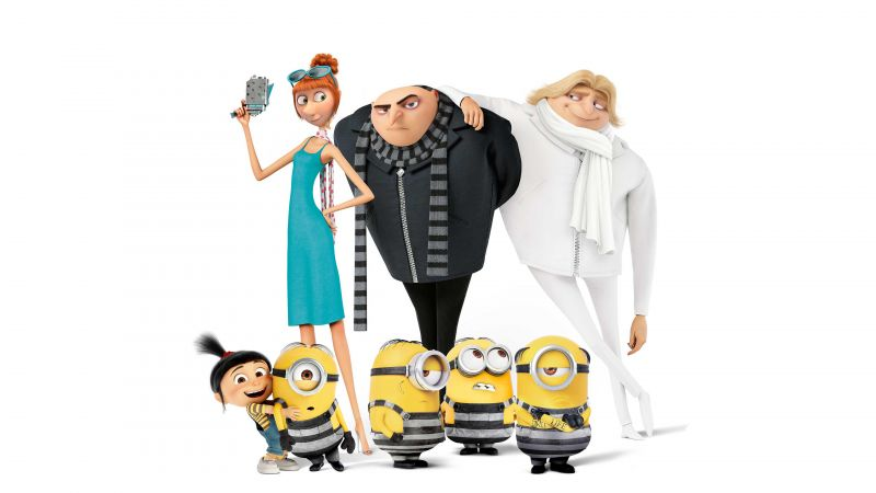 Despicable Me 3, Dru, 4k, poster (horizontal)