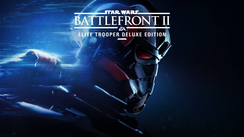 Star Wars: Battlefront II, 4k, poster, E3 2017 (horizontal)