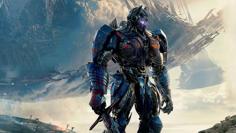 Transformers: The Last Knight, Transformers 5, 4k, 5k (horizontal)