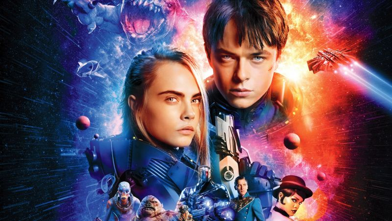 Valerian and the City of a Thousand Planets, Dane DeHaan, Cara Delevingne (horizontal)