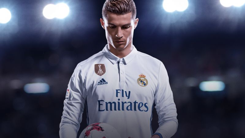 FIFA 18, 4k, Ronaldo Edition, screenshot, E3 2017 (horizontal)