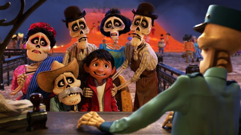 Coco, 5k, best animation movies (horizontal)