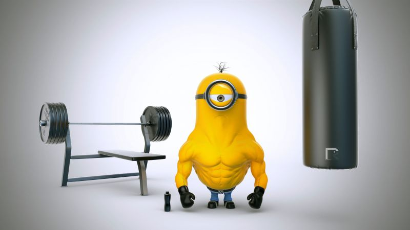 Despicable Me 3, minion, 4k (horizontal)