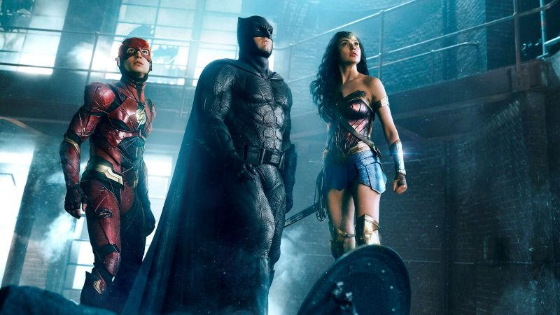 Justice League, Movie, Batman, Wonder Woman, 4k (horizontal)