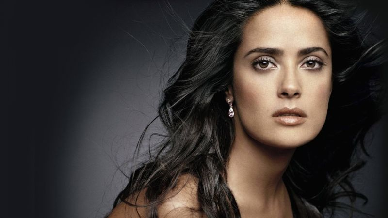 Salma Hayek, 4k, photo (horizontal)