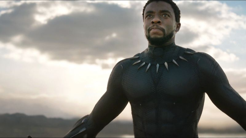 Black Panther, 4k, 2018, Michael B. Jordan (horizontal)