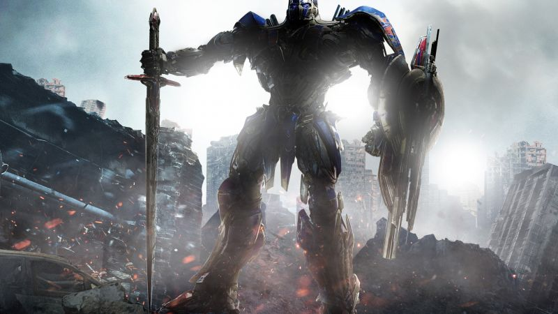 Transformers: The Last Knight, 4k (horizontal)