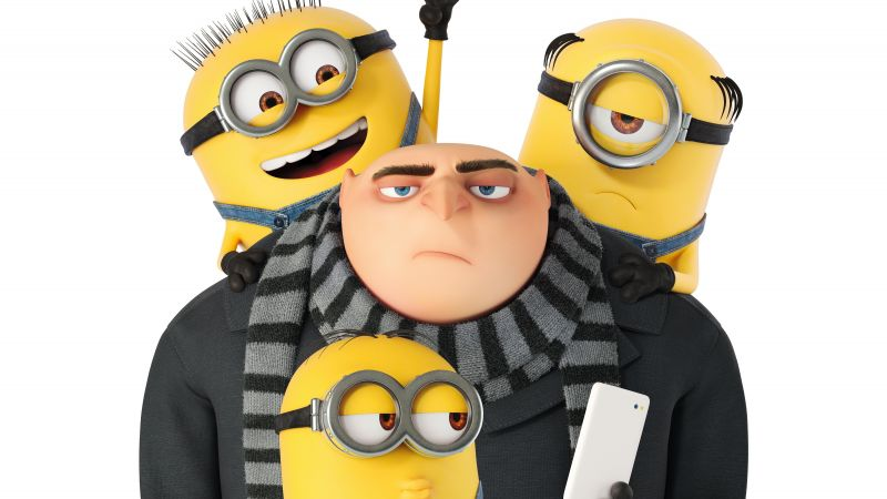 Despicable Me 3, Dru, minion, 5k, poster (horizontal)