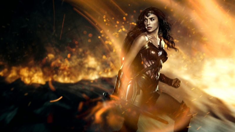 Wonder Woman, Gal Gadot, 5k (horizontal)