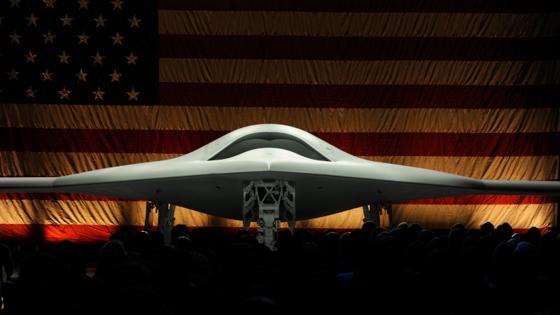 X-47B, drone, Northrop Grumman, Pegasus, UCAS-D, UAV, USA Army, presentation, USA flag, U.S. Air Force (horizontal)