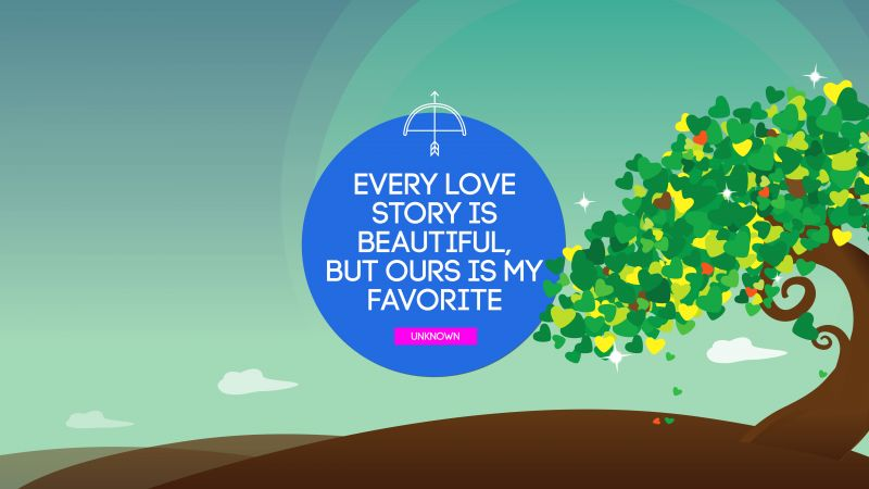 best, love quotes, 5k, tree (horizontal)